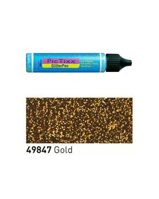 Glitter oro a rilievo 25 ml