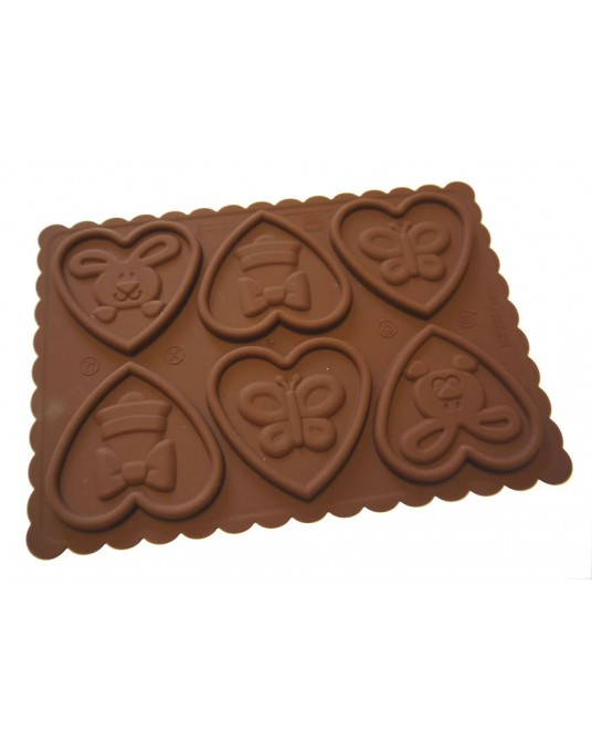 Stampi cookie love