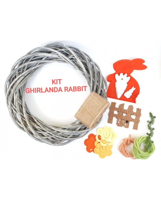 Kit per ghirlanda primavera RABBIT