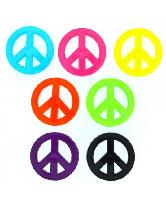 bottoni dress it up peace 7 pz