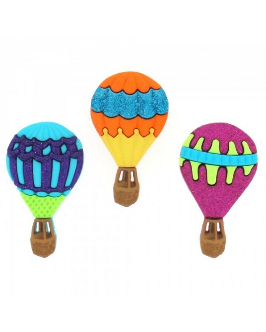 bottoni decorativi americani dress it up hot air balloons