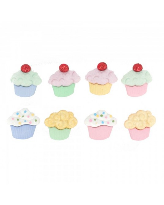 bottoni decorativi americani mini sweet treats cm 1,5