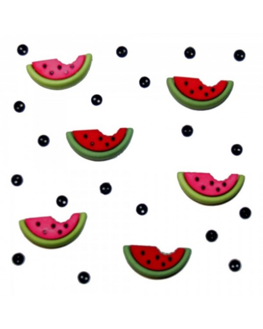 bottoni decorativi americani water melons cm 0,5 x1,5
