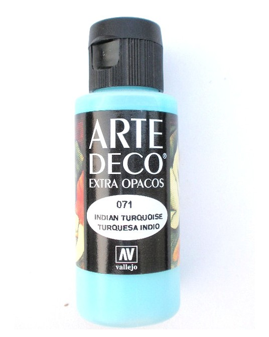Colore acrilico 60 ml turchese