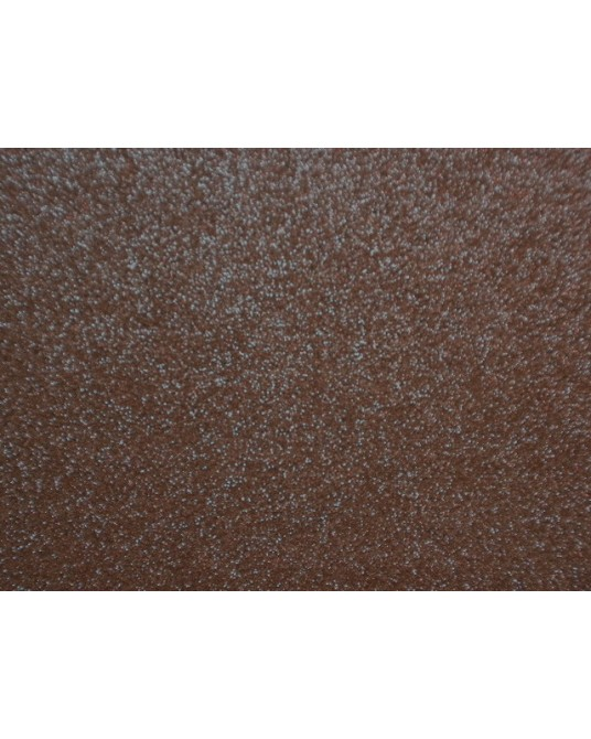 feltro 3mm marrone scuro glitterato cm 35x50 cod-57