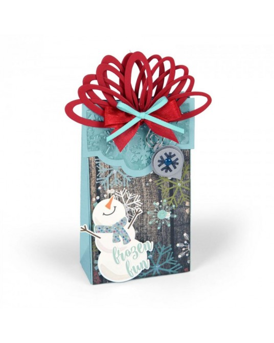 Fustella per Big Shot box wrapped with ornaments 661557