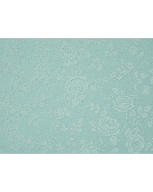 rose verde acqua pastello fantasia cm 60x40 h mm 2