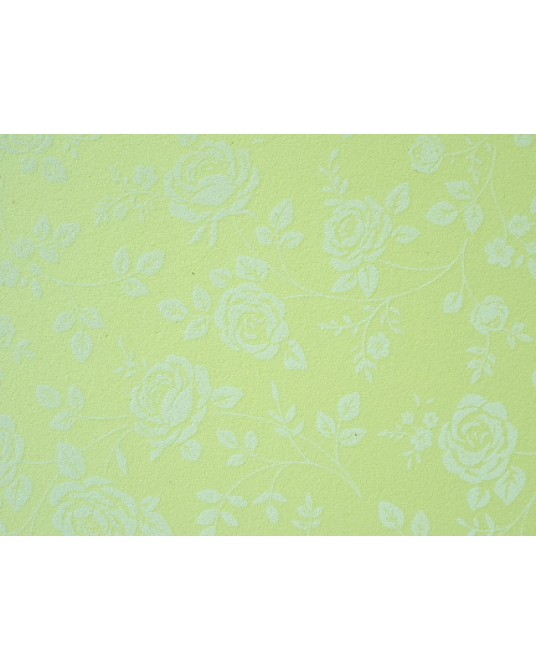 rose giallo pastello fantasia cm 60x40 h mm 2