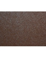 feltro 3mm marrone scuro glitterato  cm 50x70 cod-57